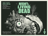 "Fotos de ""Night of the Living Dead"" a cores"