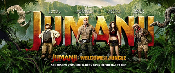 "Crítica a ""Jumanji: Welcome to the Jungle"""